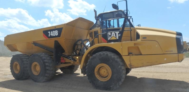 Foto: CAT. La empresa estadounidense Caterpillar importa piezas usadas con las que hace subensambles en Nuevo Laredo, Tamaulipas.