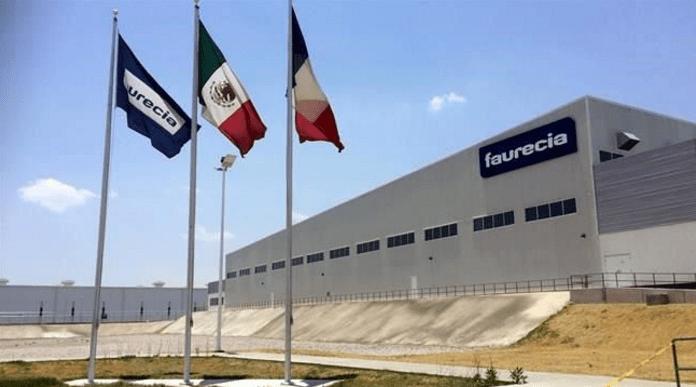 Foto: Faurencia. La empresa opera 14 plantas de producción en México.