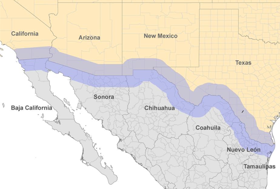 Foto: CDC. Mediante el uso de herramientas compatibles de mapeo, Estados Unidos trabajará con México para elaborar un mapa de las comunidades industriales, de manufacturas y financieras.