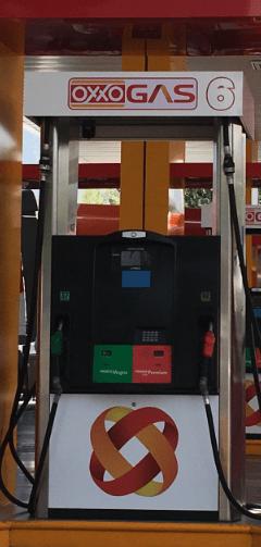 Foto: Oxxo Gas. Las gasolineras seguirán vendiendo el combustible de Pemex, pero previsiblemente, una vez que las leyes nacionales lo permitan, importará también combustible directamente.