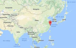 Mapa: Google, DigitalGlobe. Hoy Ningbo es un importante exportador de productos eléctricos, textiles, alimentos y herramientas industriales.