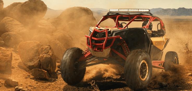 Foto: BRP. Ayer, uno de los fabricantes ubicados en México, BRP, lanzó al mercado mundial un nuevo vehículo, el Maverick X3, que se fabrica en Ciudad Juárez.