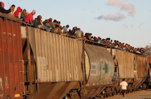Foto: Trust. FIT es una de las empresas que maneja el tren de carga conocido como La Bestia.