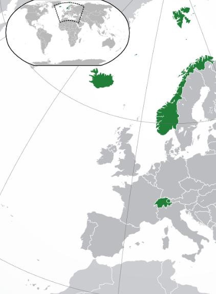 Gráfico: Wikipedia. El 28 de octubre de 2015 se concluyó el marco general para la revisión del Tratado con México.