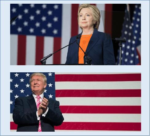 Foto: Páginas oficiales de los candidatos. Al inicio de la semana, el principal riesgo al alza para el tipo de cambio provendrá de las noticias relacionadas al proceso electoral de Estados Unidos, ya que hoy por la noche a las 20:00 horas, los candidatos a la presidencia Hillary Clinton y Donald Trump, participarán en su primer debate.